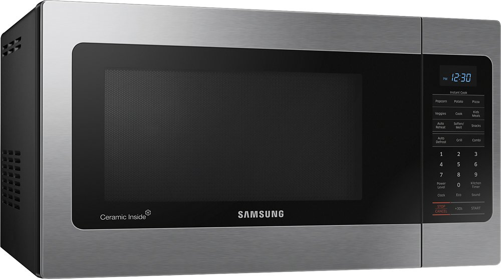 Samsung Mg11h2020ct 1 1 Cu Ft Countertop Microwave Oven