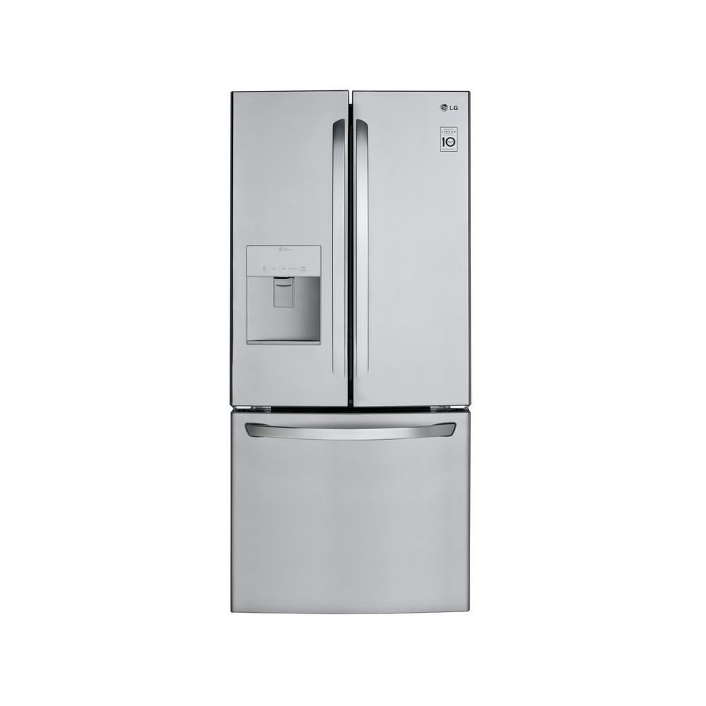 Lg Lfds22520s 21 8 Cu Ft 30 Inch French Door