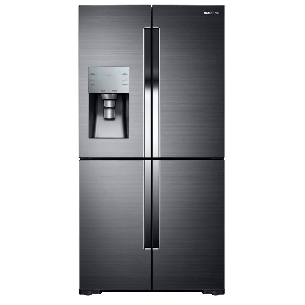 Samsung 35 75 In W 28 1 Cu Ft French Door Refrigerator