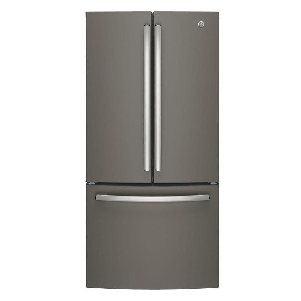 Ge French Door Refrigerator 24 8 Cu Ft Slate