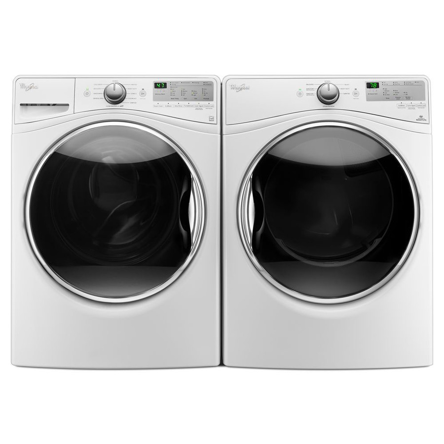 Whirlpool Wfw8540fw 4 5 Cu Ft High Efficiency Stackable