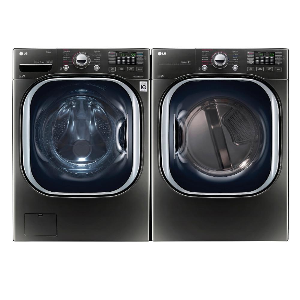 Lg Dlgx4371k 7 4 Cu Ft Gas Dryer And Wm4370hka 4 5 Cu