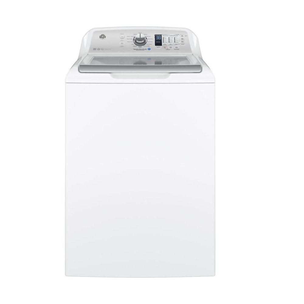 Ge Gtw680bsj5ws 4 6 Cu Ft High Efficiency White Top Load