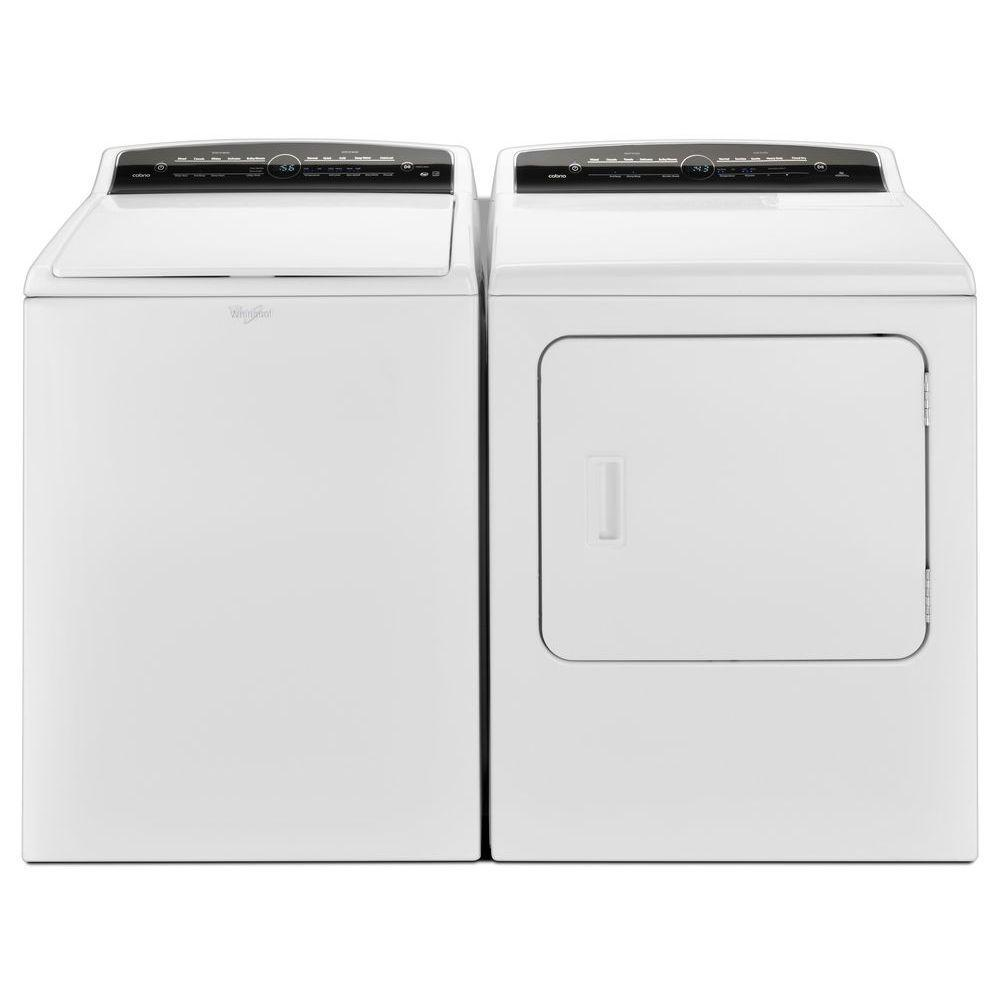 Whirlpool Wgd7000dw2 Cabrio 7 0 Cu Ft 120 Volt Dryer And
