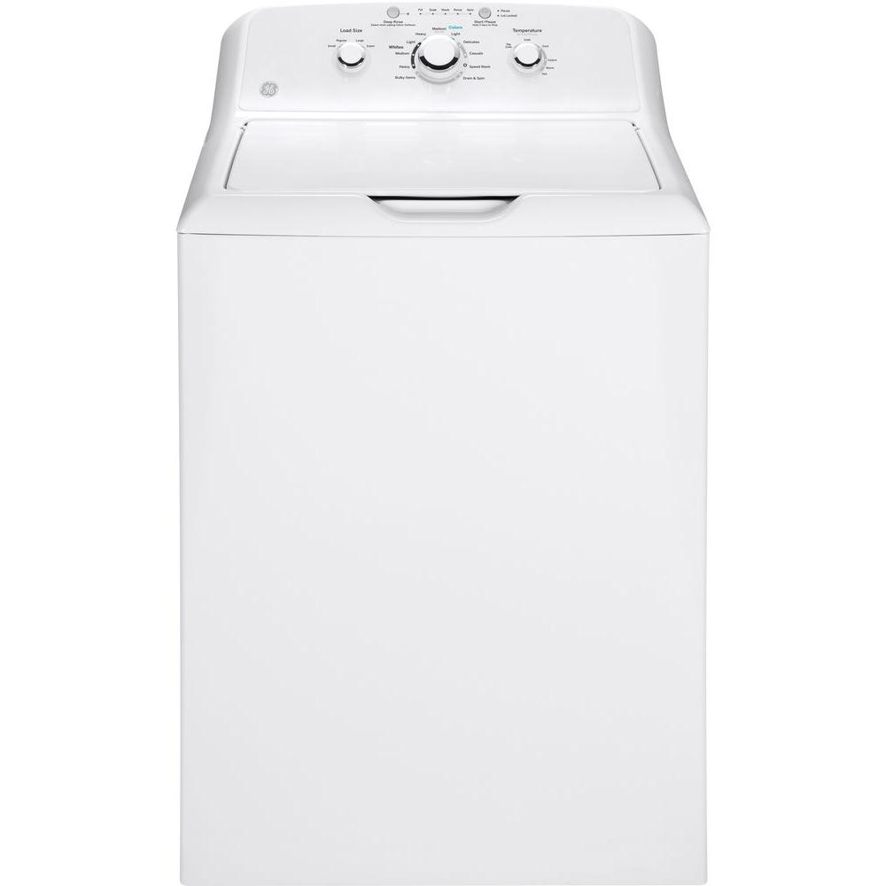 Ge Gtw330ask1ww 3 8 Cu Ft White Top Load Washer