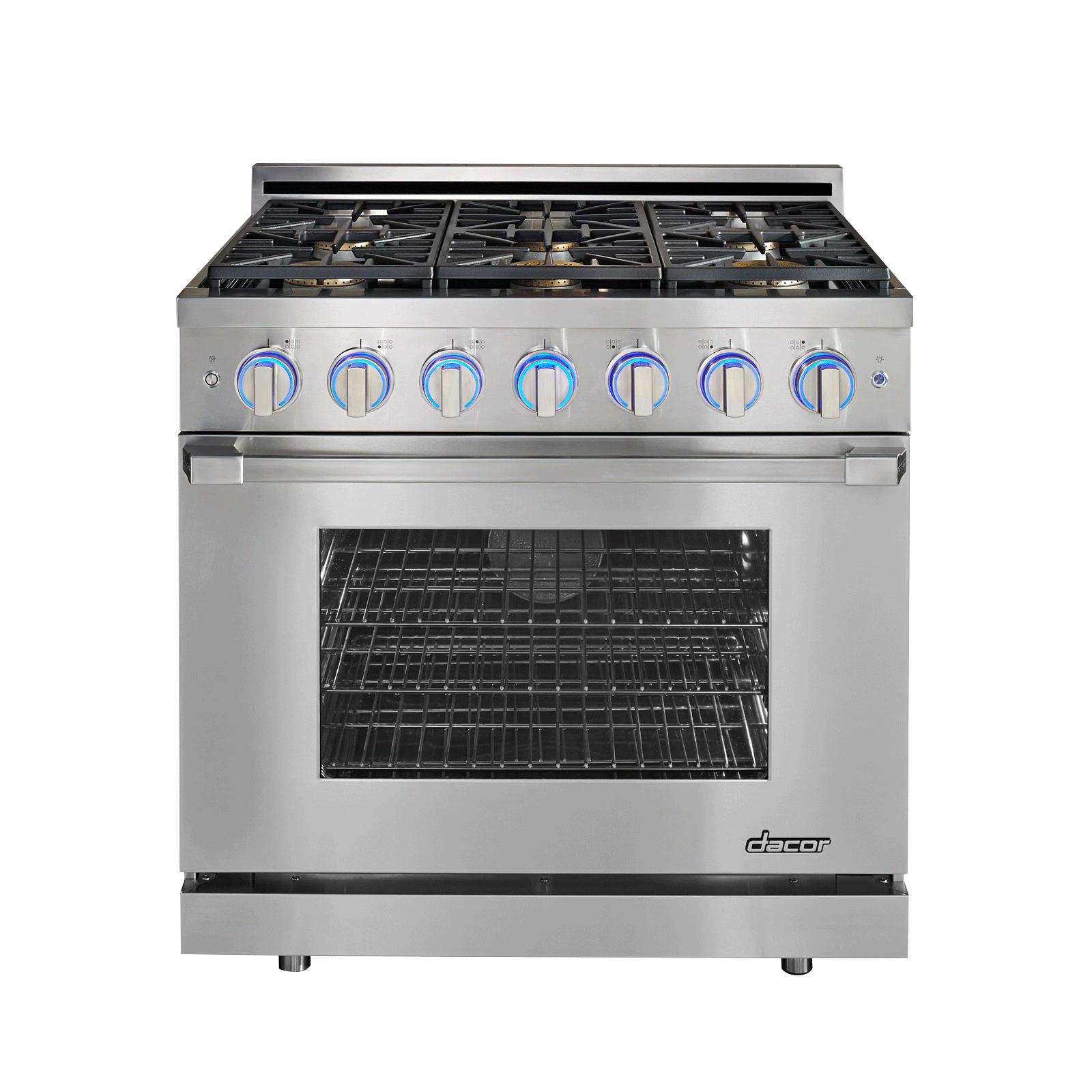 Dacor Renaissance Series Rnrp36gs Ng 36 In 5 2 Cu Ft