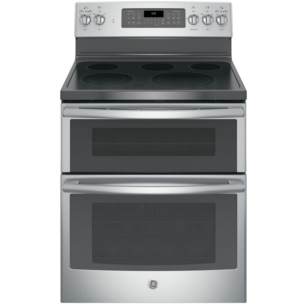 Ge Jb860sjss 6 6 Cu Ft Double Oven Electric Range With