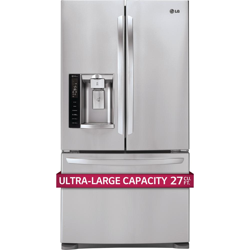 Lg French Door Refrigerator 26 8 Cu Ft