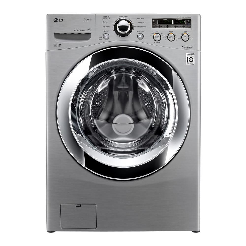 Lg Wm3250hva 4 0 Cu Ft High Efficiency Front Load Washer