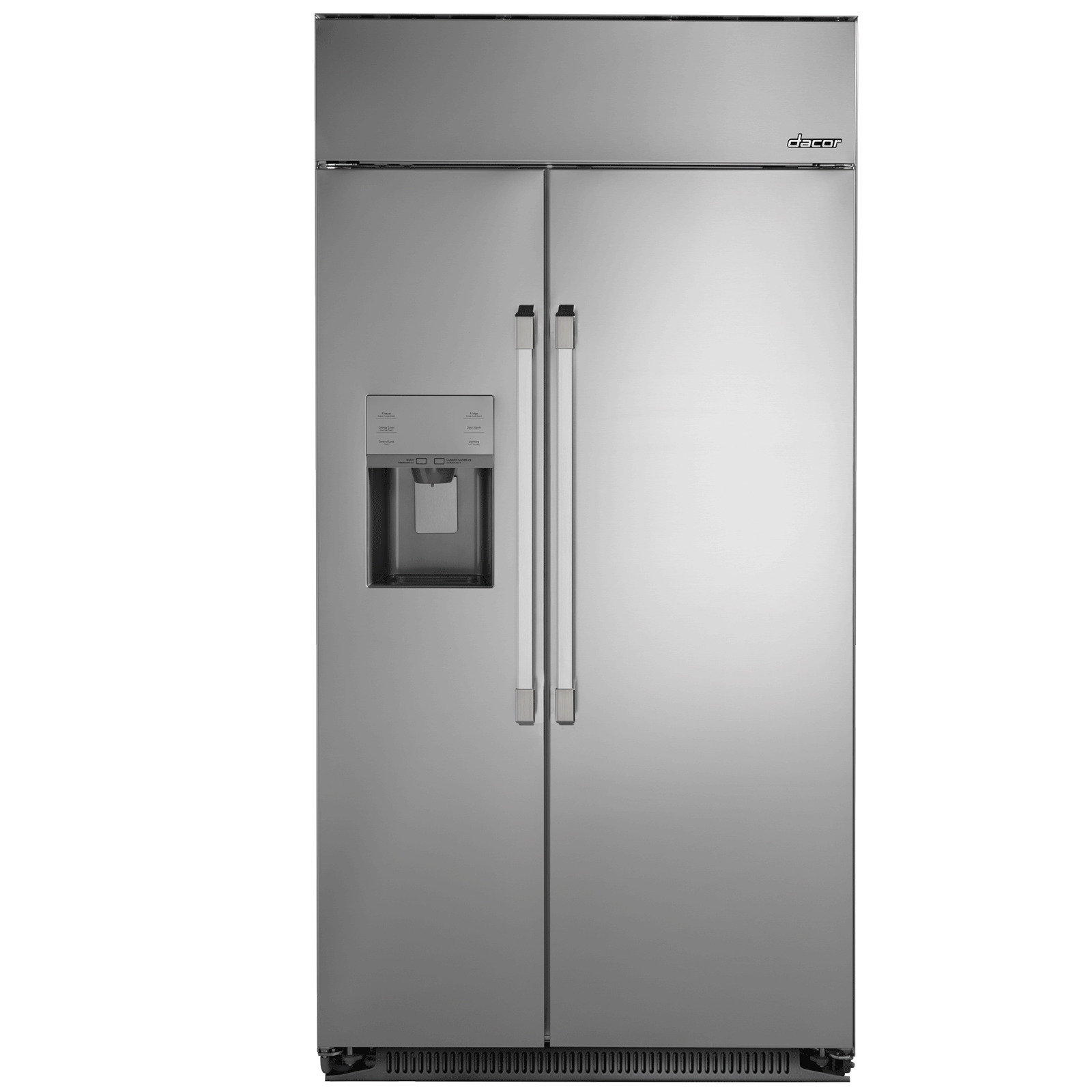 Dacor dyf42sbiws 42 built in counter depth side by side for Dacor 42 refrigerator