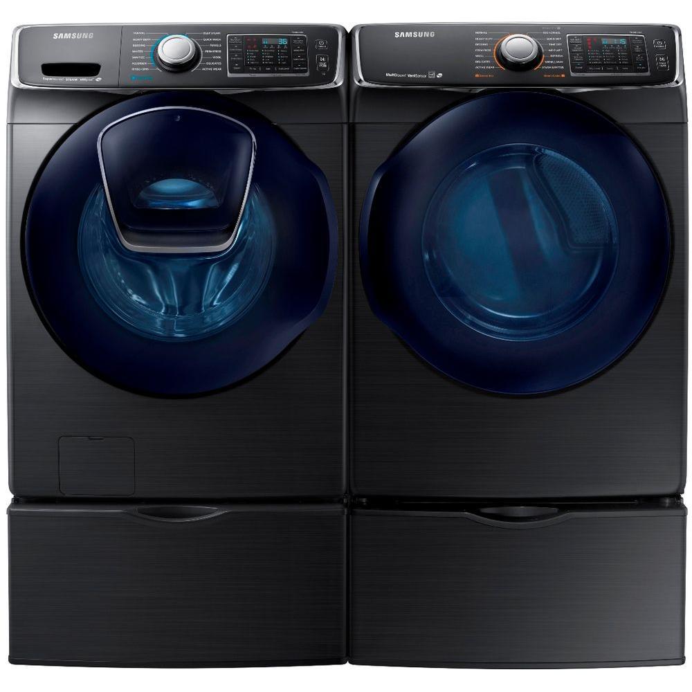 Samsung Dv50k7500ev Front Loading Electric Dryer And
